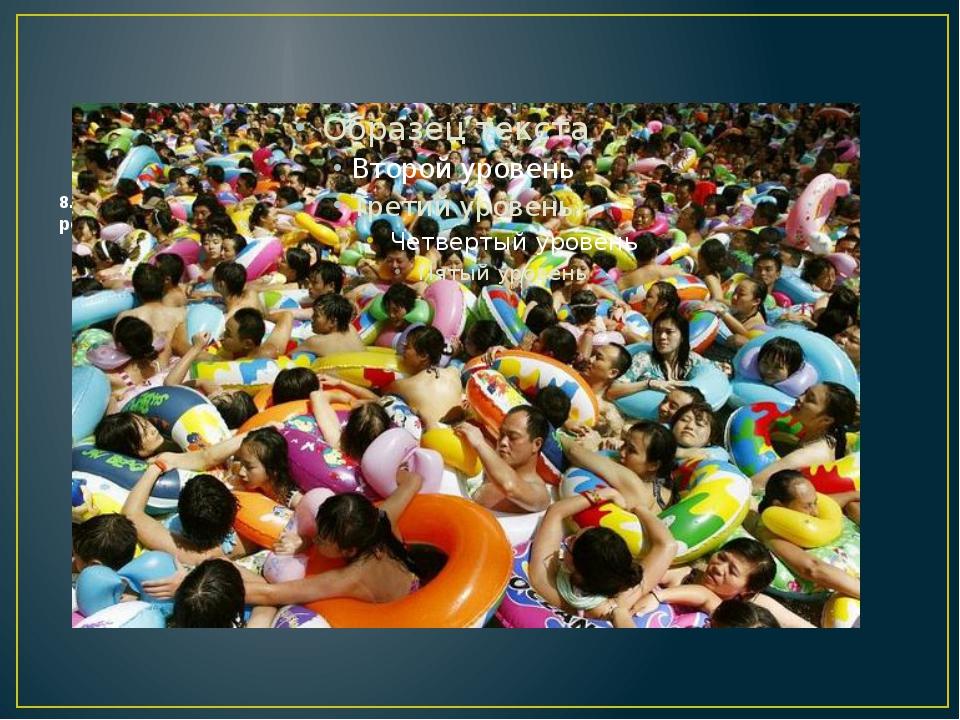8. Сингапур занимает второе место в мире по плотности населения, расположивши...