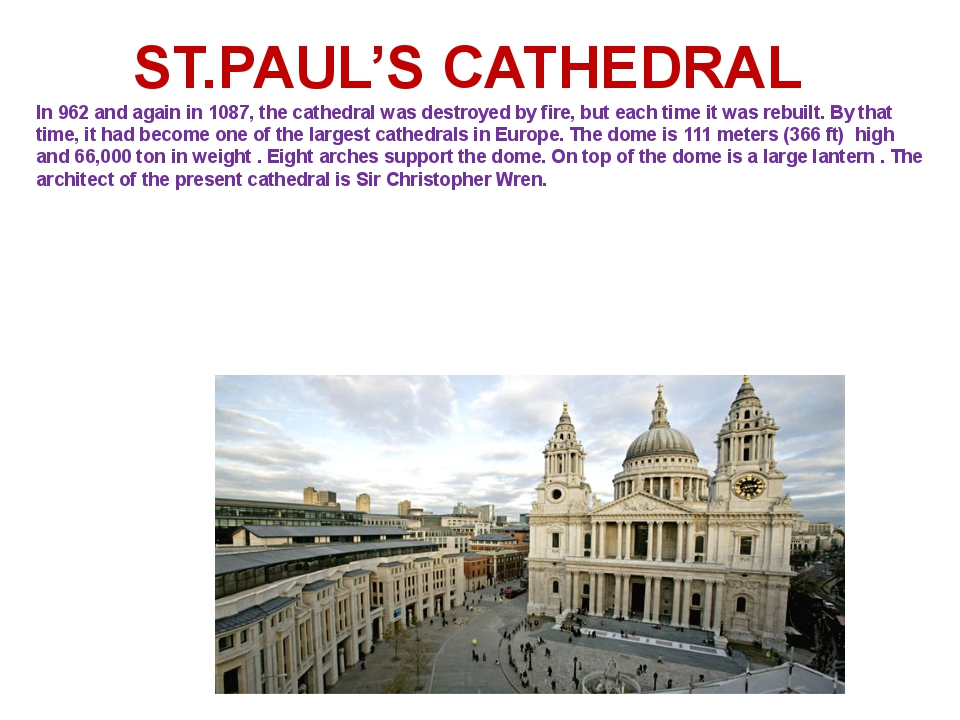 In 962 and again in 1087, the cathedral was destroyed by fire, but each time...