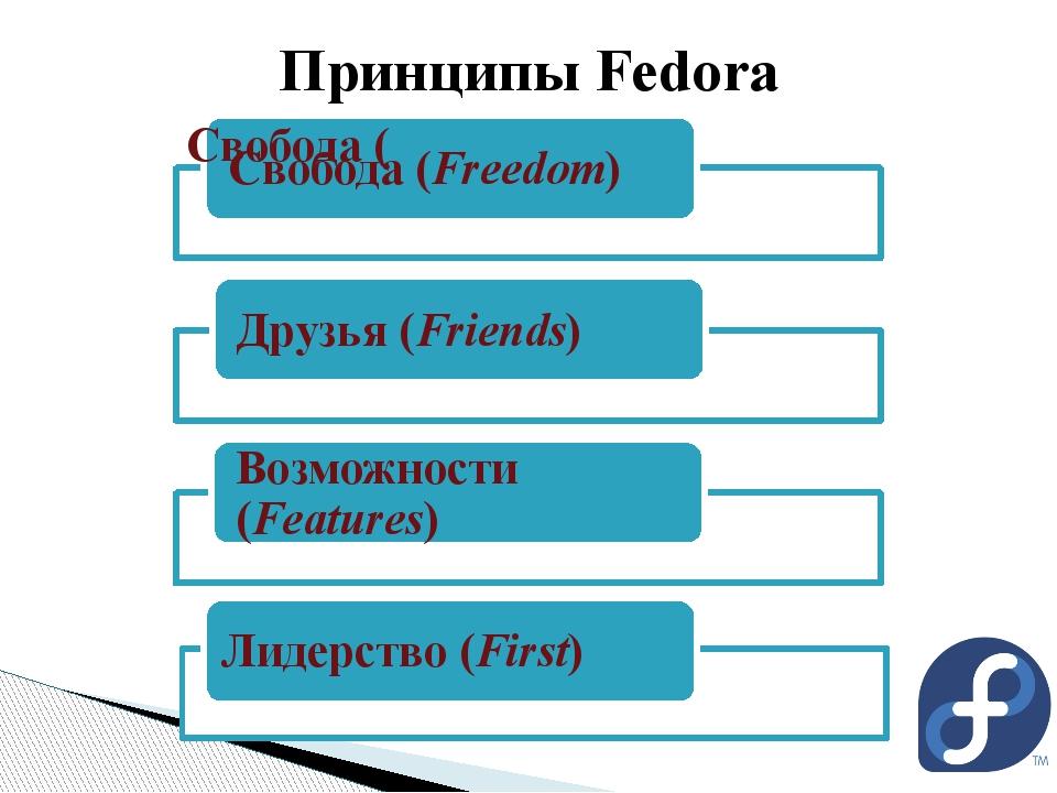 Принципы Fedora Лидерство (First)