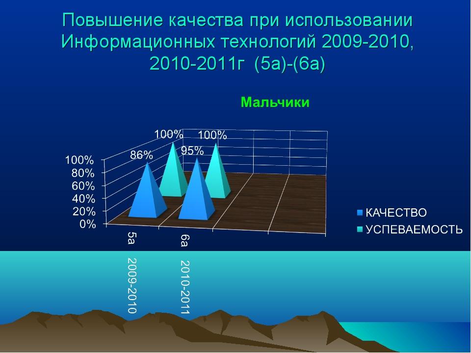Повышение качества при использовании Информационных технологий 2009-2010, 201...