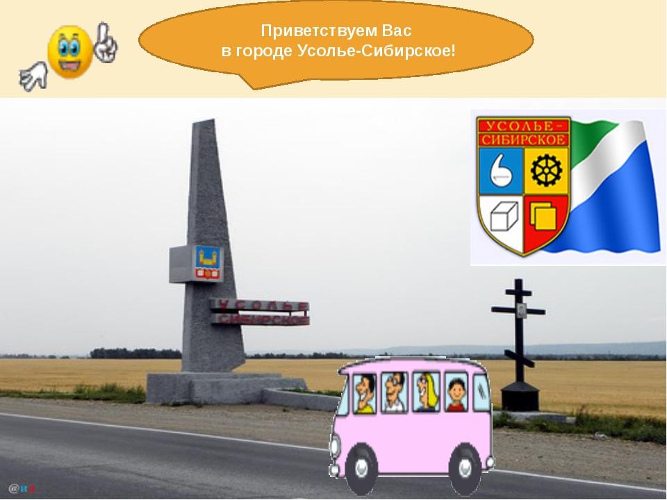Приветствуем Вас в городе Усолье-Сибирское!