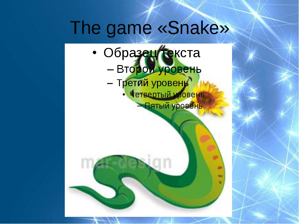 The game «Snake»
