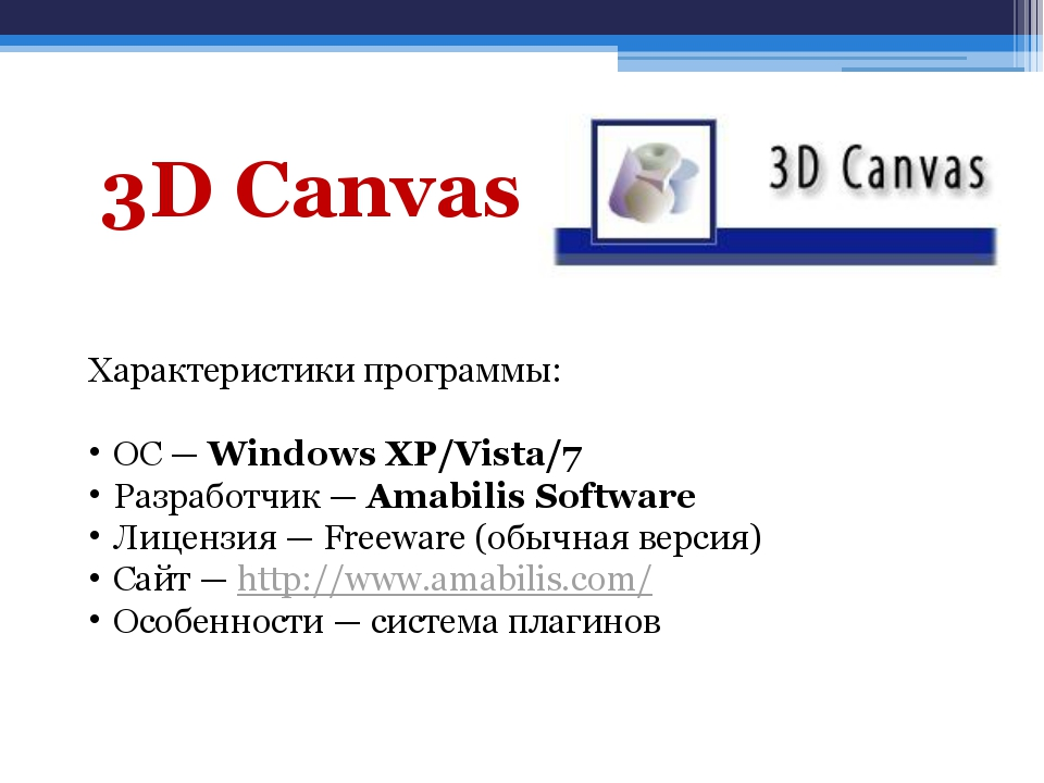 Характеристики программы: ОС — Windows XP/Vista/7 Разработчик — Amabilis Soft...
