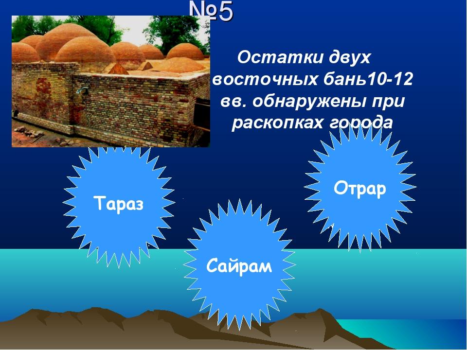 №5 Остатки двух восточных бань10-12 вв. обнаружены при раскопках города Молод...
