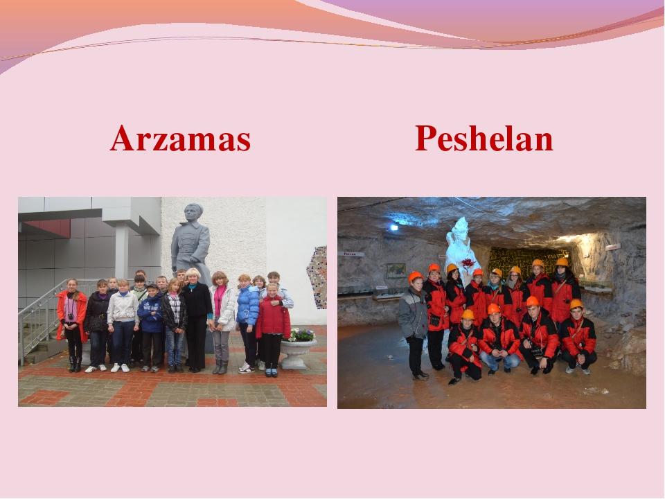Arzamas Peshelan