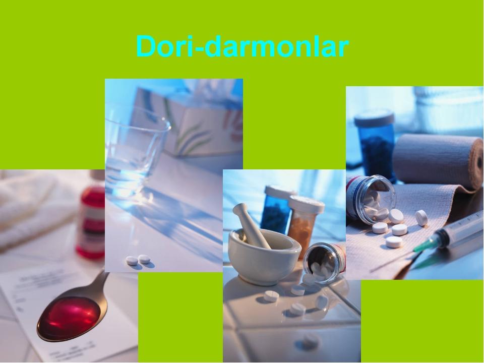 Dori-darmonlar