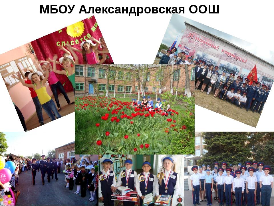 МБОУ Александровская ООШ