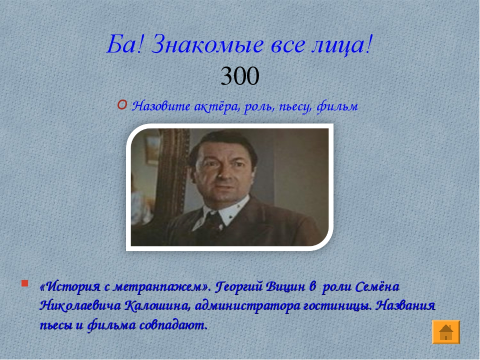Ба! Знакомые все лица! 300 «История с метранпажем». Георгий Вицин в роли Семё...