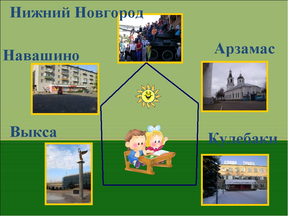 Нижний Новгород Навашино Арзамас Выкса Кулебаки