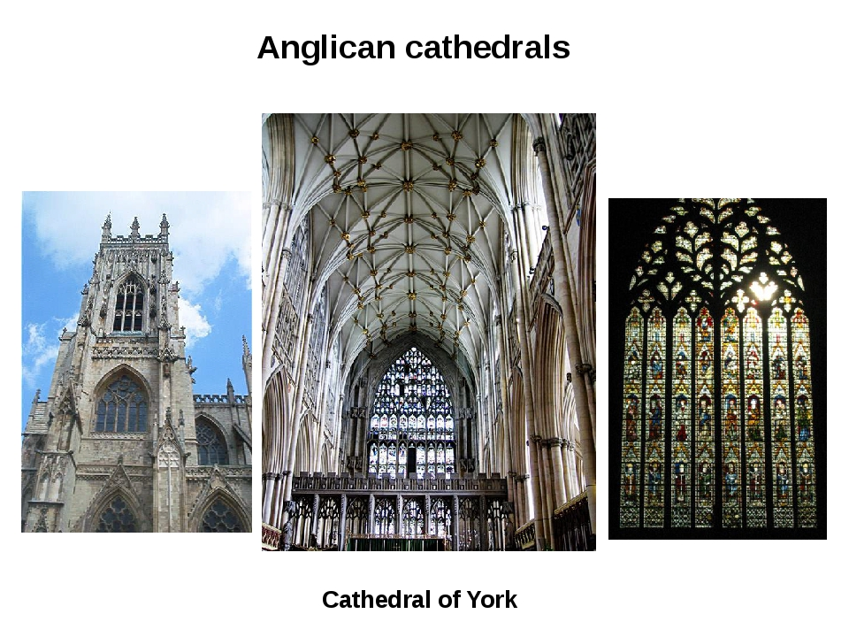 Anglican cathedrals Cathedral of York