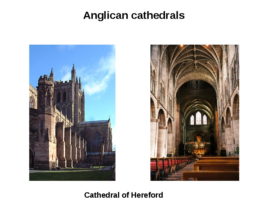 Cathedral of Hereford Anglican cathedrals