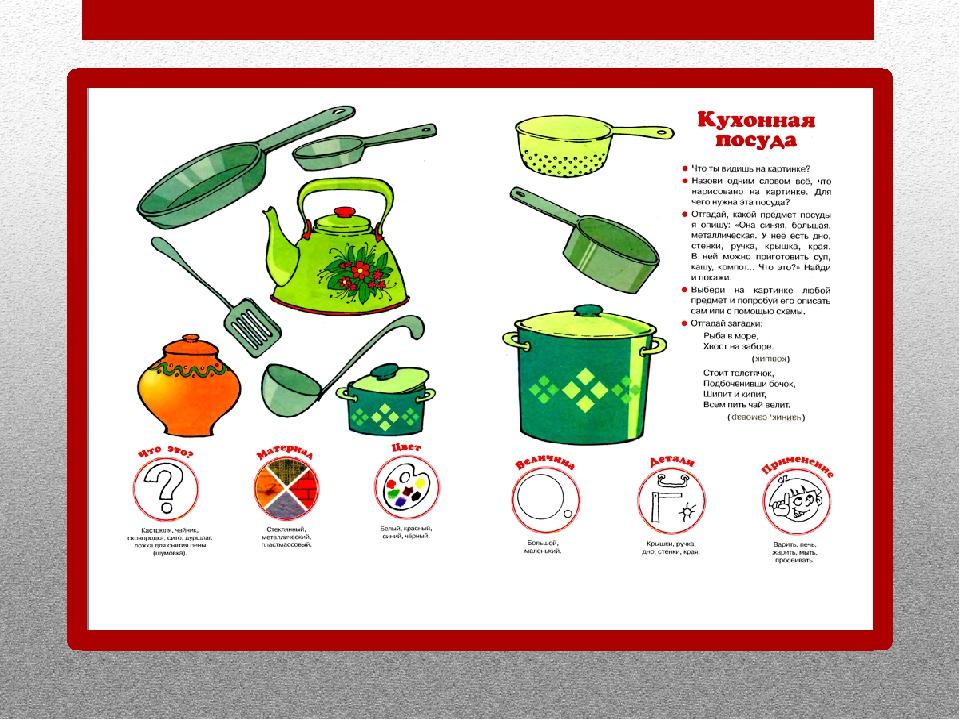 сказки о посуде с картинками папку