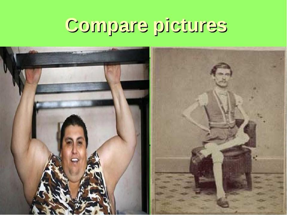 Compare pictures